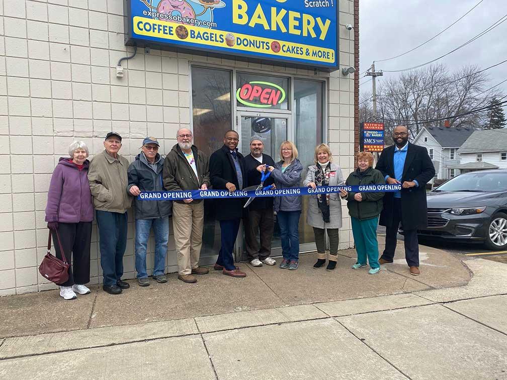 expresso bakery ribbon cutting ceremony