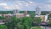 aerial view of elyria ohio