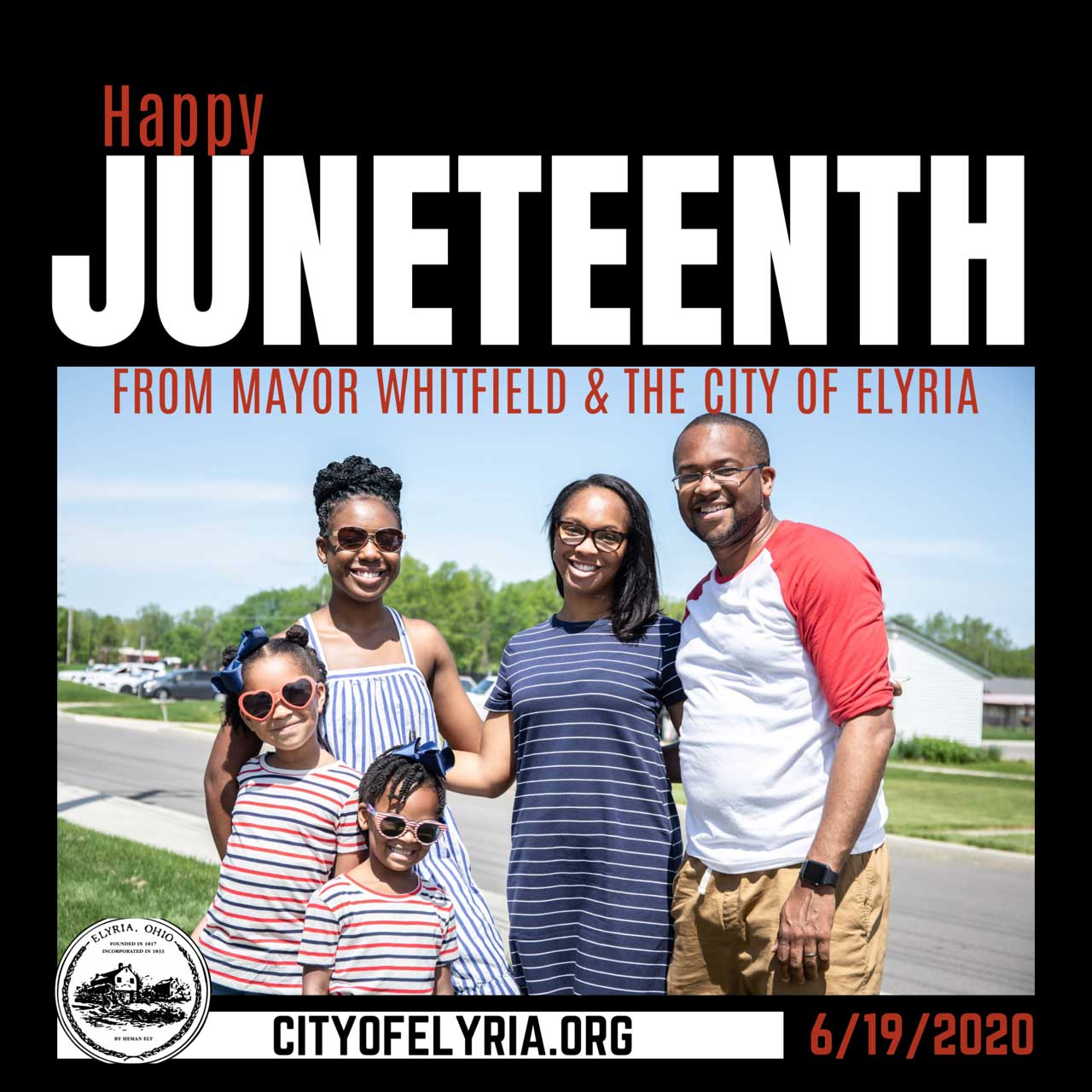 happy juneteenth from mayor whitfield