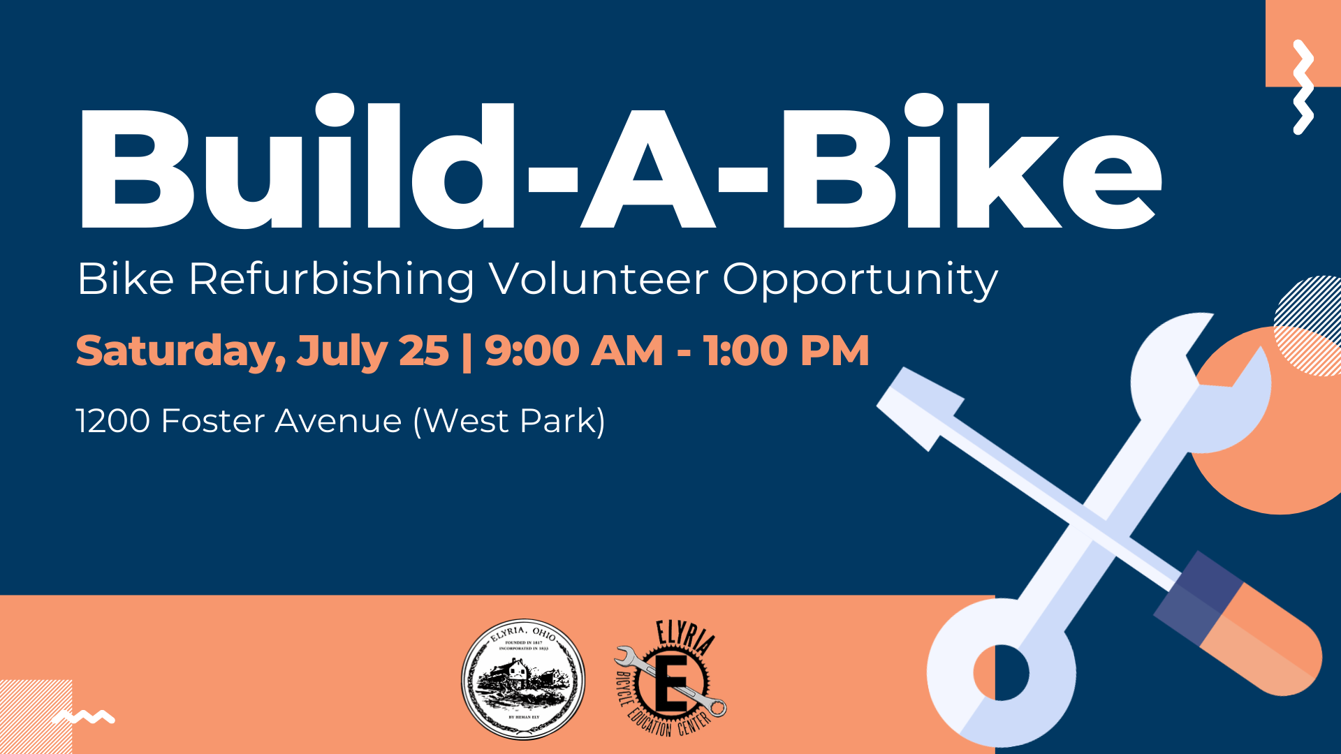 Information about the second Build-A-Bike opportunity