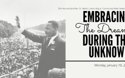 City of Elyria to Honor Reverend Dr. Martin Luther King, Jr. with 35th Annual Community-Wide Celebration: Embracing the Dream During the Unknown